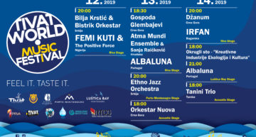 Tivat World Music Festival 2019 – program